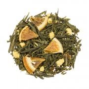 Herbata zielona Sencha Sweet Orange